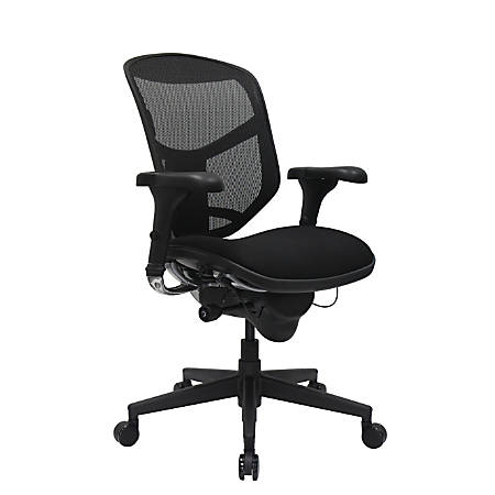 WorkPro Quantum 9000 Series Ergonomic Mid - Ergonomic Office Chairs At Office Depot