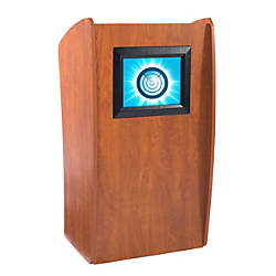 Oklahoma Sound Vision Floor Lectern With
