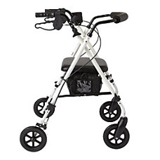 Guardian Luxe Rollator 7 Wheels White