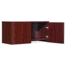 Lorell Essential Series Mahogany Wall Mount