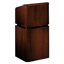 Oklahoma Sound Veneer Table Lectern With