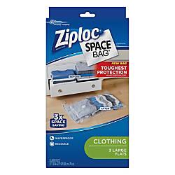 Ziploc Space Bags Jumbo Clear Pack
