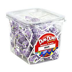 Dum Dum Lollipops Grape 1 Lb