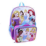 Backpack With Lunch Kit Disney Girls