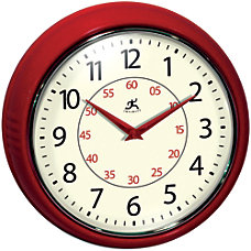 Infinity Instruments Round Wall Clock 9
