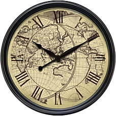 Infinity Instruments Round Wall Clock 24