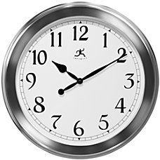 Infinity Instruments Round Wall Clock 20