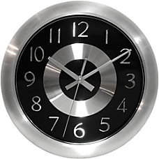 Infinity Instruments Round Wall Clock 10