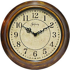 Infinity Instruments Round Wall Clock 14