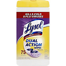 Lysol Disinfecting Wipes Wipe Citrus Scent