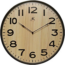 Infinity Instruments Round Wall Clock 21