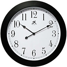 Infinity Instruments Round Wall Clock 26