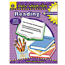 Teacher Created Resources Daily Warm Ups