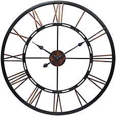 Infinity Instruments Round Wall Clock 28