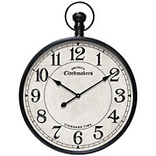 Infinity Instruments Round Wall Clock 23