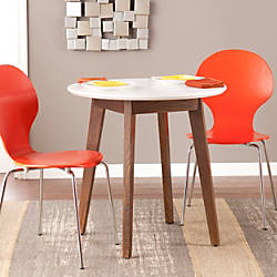 Holly Martin Oden Round Table WhiteBurnt