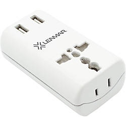 Lenmar World Travel Adapter with Dual