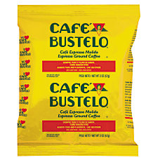 Cafe Bustelo Espresso Coffee Fraction Pack