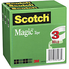 Scotch Cabinet Pack Magic Tape 075