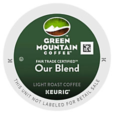 Green Mountain Coffee Our Blend Coffee