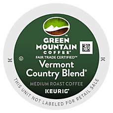 Green Mountain Coffee Vermont Country Blend
