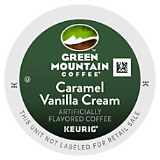 Green Mountain Coffee Pods Caramel Vanilla