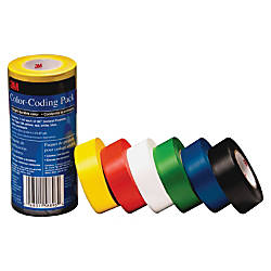 3M Vinyl Tape 764 Color coding