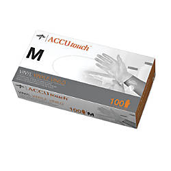 Accutouch Synthetic Disposable Powder Free Vinyl