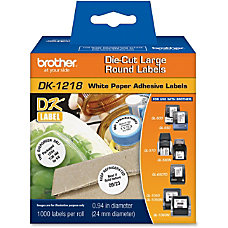 Brother DK1218 Label Tape Line List