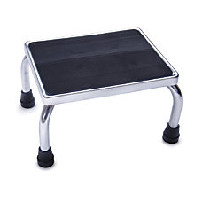 Medline Steel Foot Stool Chrome