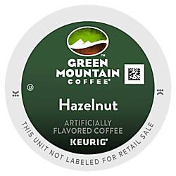 Green Mountain Coffee Hazelnut Coffee K