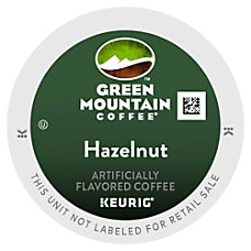 Green Mountain Coffee Hazelnut Coffee K