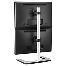 Visidec Freestanding Dual Vertical Display Mount