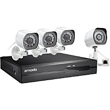 Zmodo 4 Channel 1080P Full HD