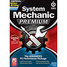 System Mechanic Premium Unlimited PCs in
