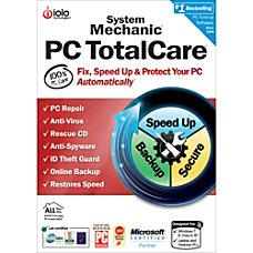 System Mechanic PC TotalCare Unlimited PCs
