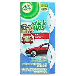 Airwick Stick Ups Car Air Fresheners