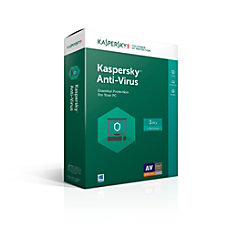 Kaspersky Anti Virus 3 user 1