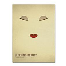 Trademark Global Sleeping Beauty Gallery Wrapped