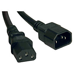 Tripp Lite 6ft Power Cord Extension