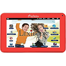 Lexibook Kids Tablet Master 2 Red