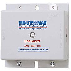 Minuteman LineGuard MMS CAT6 POE Surge