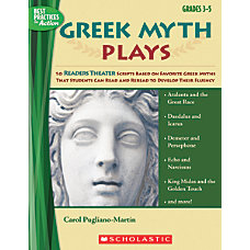 Scholastic Greek Myth Plays