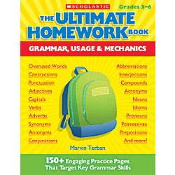 Scholastic The Ultimate Homework Book Grammar