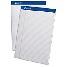 Ampad Perforated Ruled Pads 50 Sheets