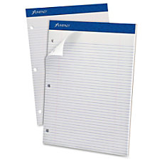 Ampad Perforated 3HP Ruled Double Sheet
