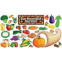 Scholastic Autumn Harvest Bulletin Board