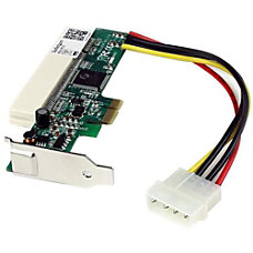 StarTechcom PCI Express to PCI Adapter