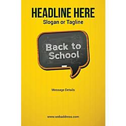 Custom Vertical Poster Back To School