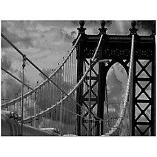 Trademark Global Manhattan Bridge Gallery Wrapped